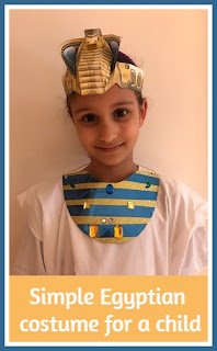Simple child Egyptian costume tutorial