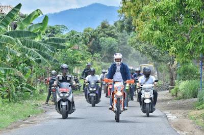 Tancap Gas, Bupati Nur Arifin Safari Insfrastruktur di Awal Tahun