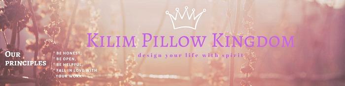 Kilim pillow kingdom ETSY shop