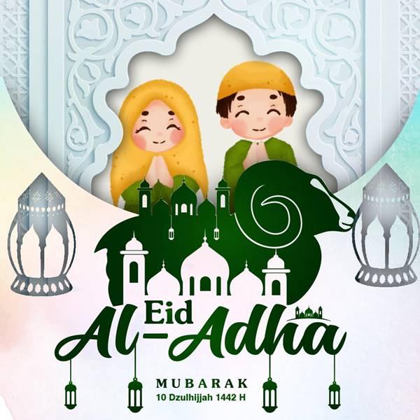 Desain Twibbon Hari Raya Idul Adha oleh Anang Baharudin