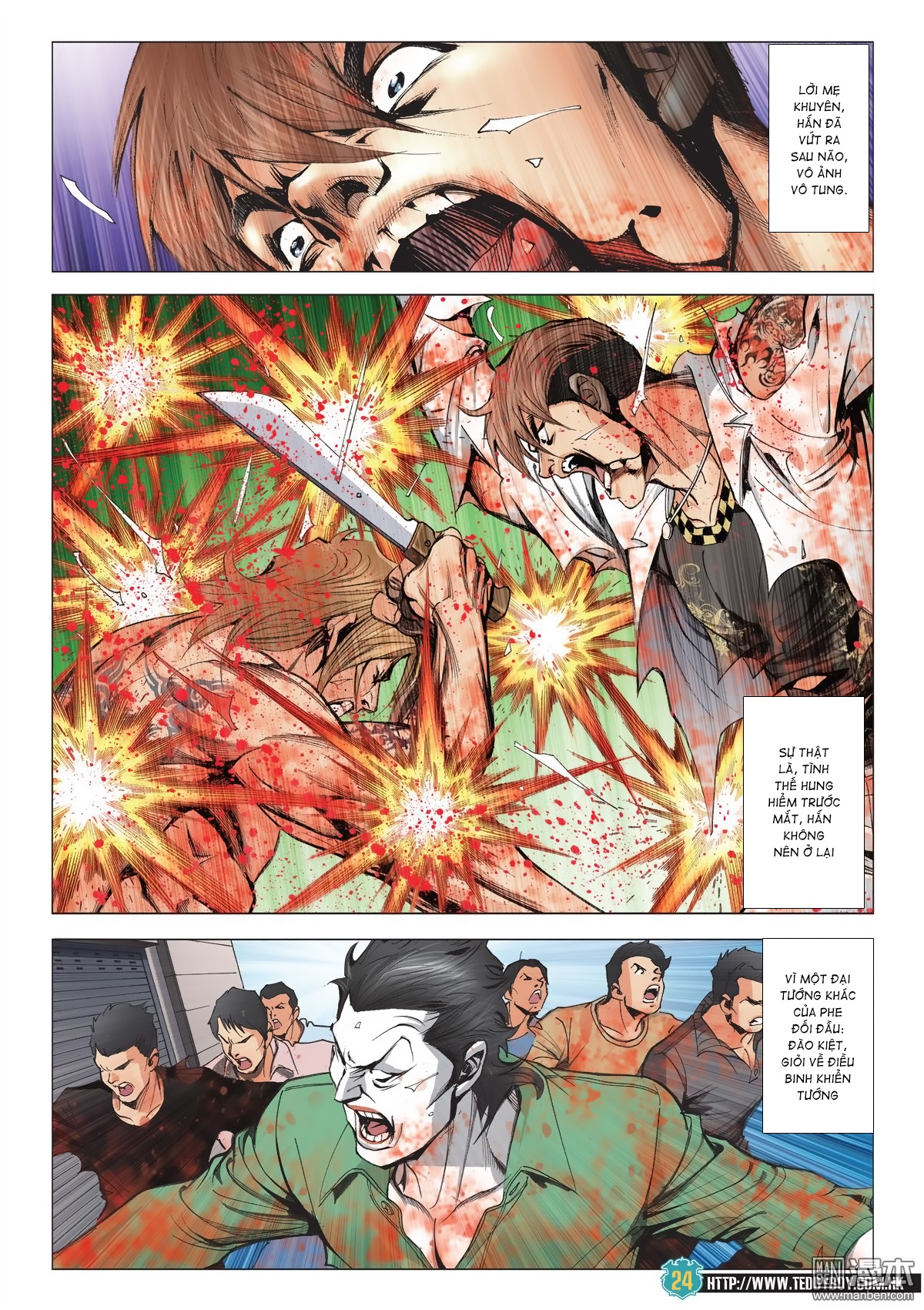 Người Trong Giang Hồ chapter 2038: thanh toán trang 23