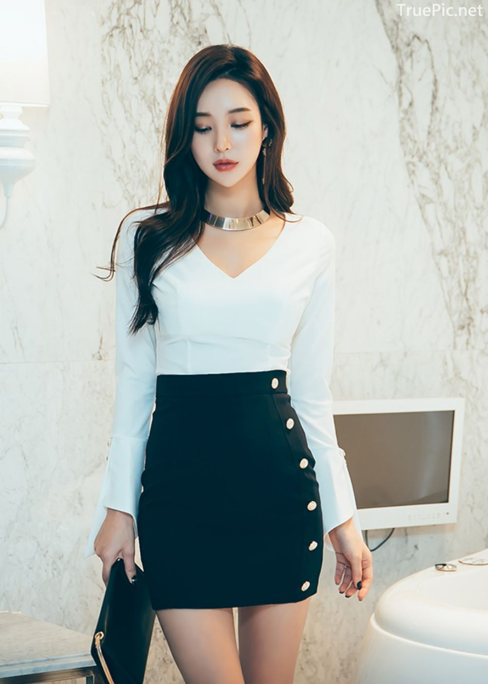 Korean Fashion Model - Park Da Hyun - Indoor Photoshoot Collection - TruePic.net - Picture 1