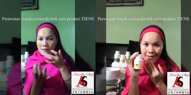 Tutorial Cara Pemakaian Masker Vitaline Softgels