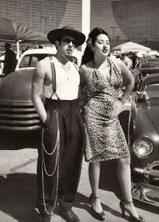 Pandillero de la Calle 38 en los años 50