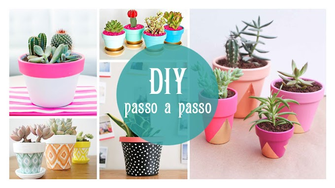 Diy Vasos de Planta | Suculentas