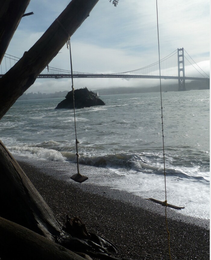 Swing at Kirby Cove