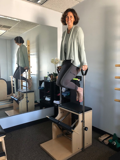 Iryna Pantelyuk helps guided clients to health using pilates.