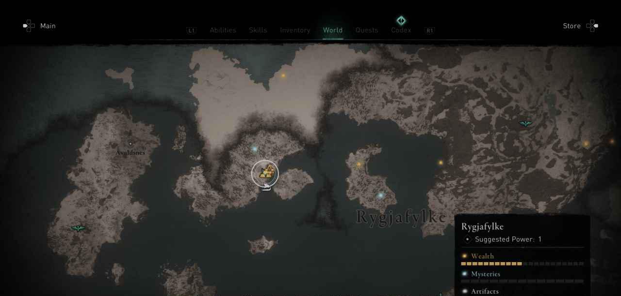 Ingot 7 Map