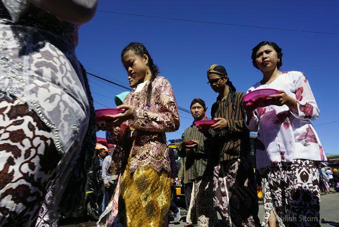 Arakan karnaval di Dieng Culture Festival