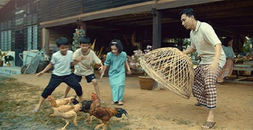 Tangkap ayam kampung ketika hari raya