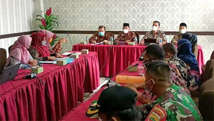 Rapat koordinasi pelaksanaan program Sergap Kakap