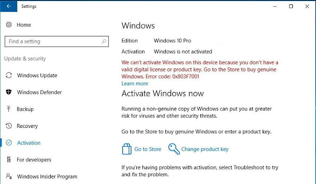 How To Solve Windows 10 Activation Problems