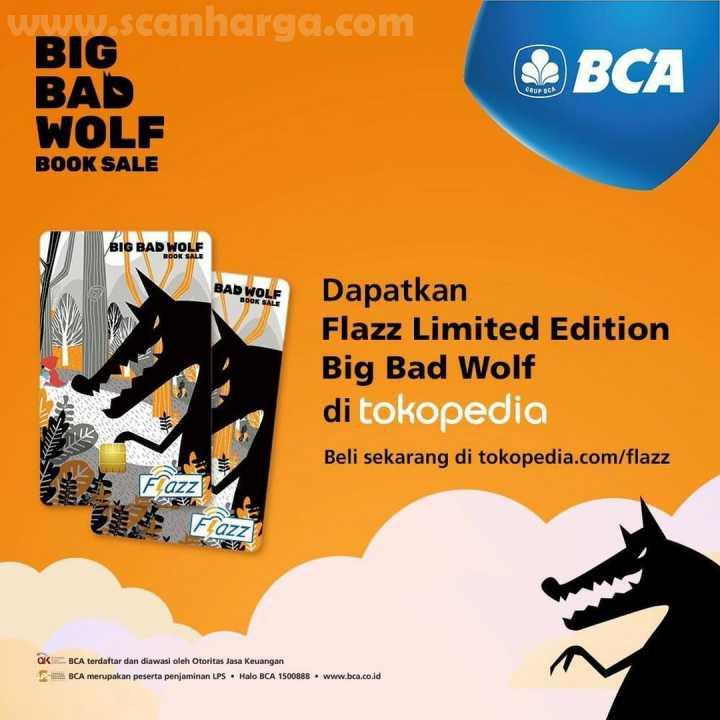 Promo Big Bad Wolf BCA Flazz