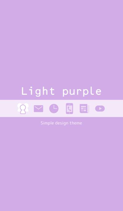 Simple Light purple