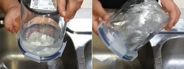 Canister filter leak test