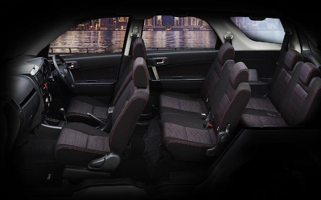 Interior Daihatsu Terios Terbaru