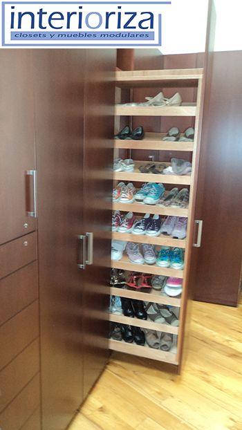 Hogar diez 25 ideas para organizar los zapatos en tu hogar - Almacenaje zapatos ...