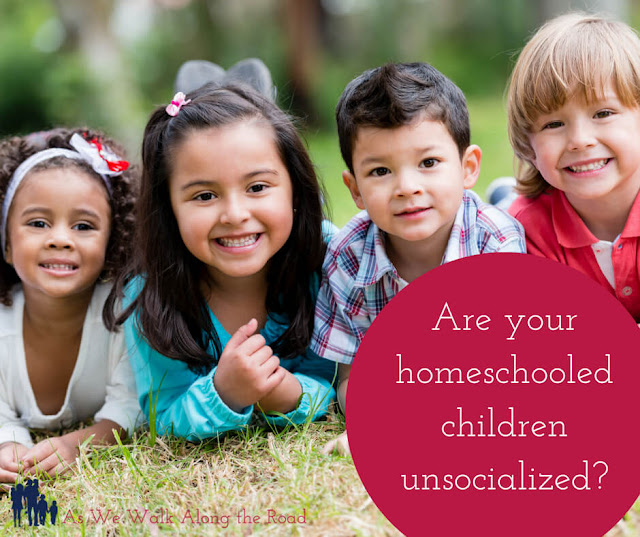 Unsocialized homeschoolers