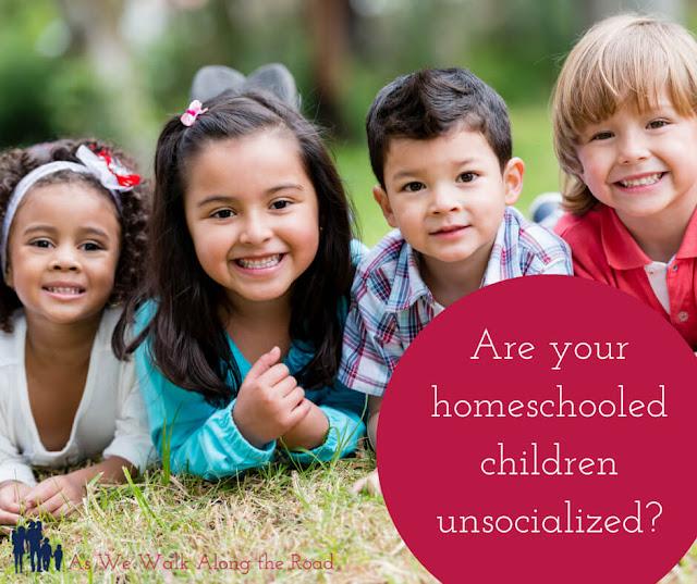 Unsocialized homeschoolers
