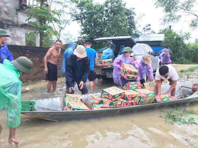 Toàn cảnh lũ lụt tại Ninh Bình và hoạt động cứu trợ tại Thanh Hoá - Ảnh minh hoạ 28