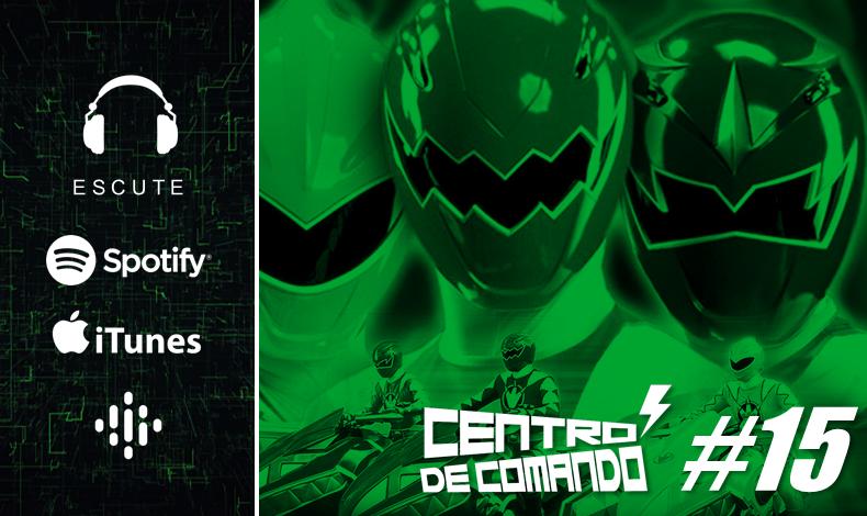 Centro De Comando 15 Power Rangers Dino Trovao 15 Anos Mega