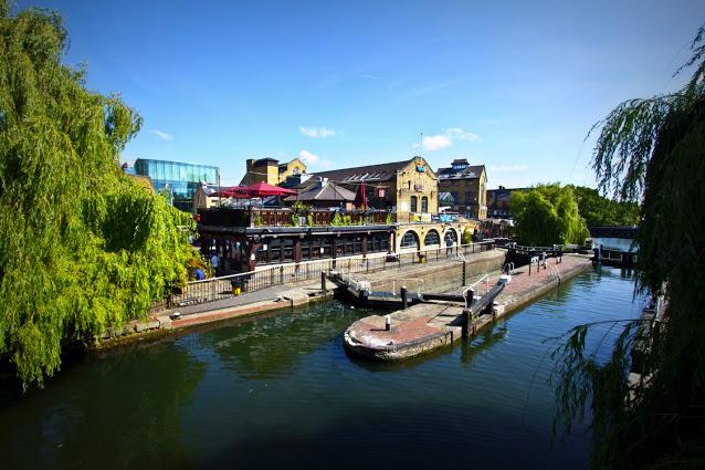Camden market e Camden lock-Londra