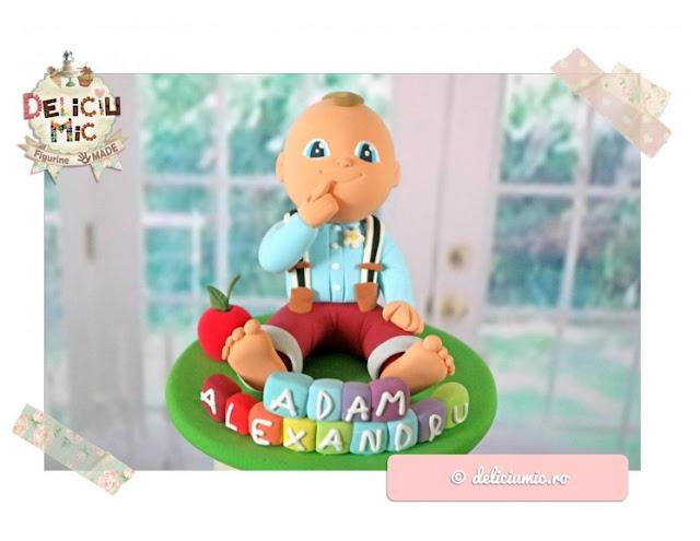 figurine tort băiețel