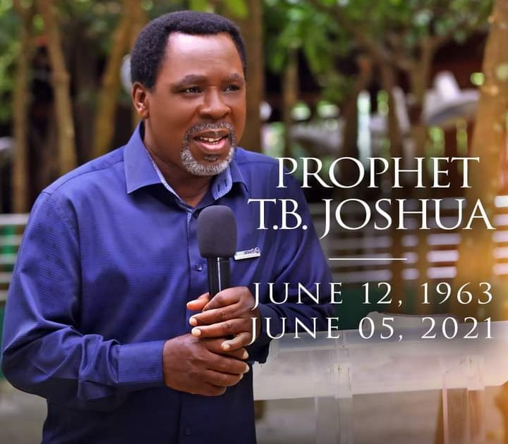 Prophet TB Joshua Ministries confirms he is dead - Xperiang.com