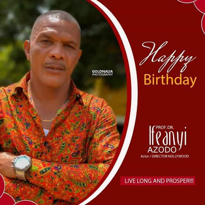 NOLLYWOOD: Director Ifeanyi Azodo Is Celebrating