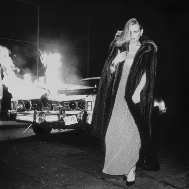 Chris von Wangenheim, photoshoot, Lisa Taylor, Doberman, Fashion, Beauty, 1970s, New York City