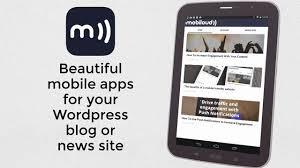 mobiloud - membangun situs aplikasi android gratis