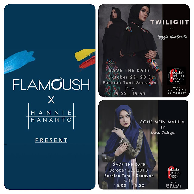 Jakarta Fashion Week (JFW) 2019 - FLAMOUSH x HANNIE HANANTO