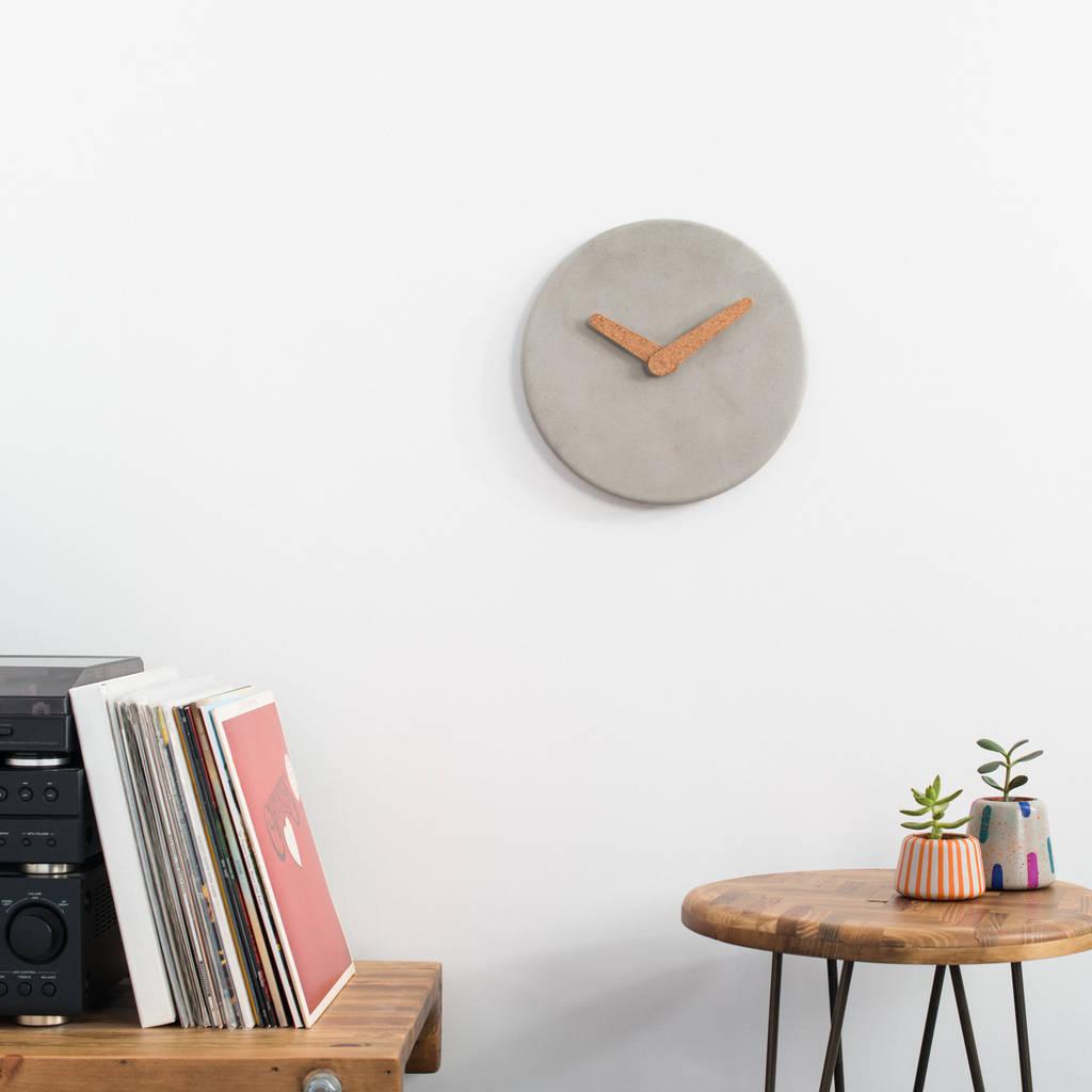 Betonowy zegar
