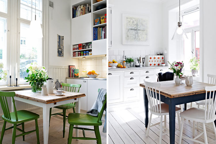 Marzua tipos de mesas para el comedor for Como decorar un comedor minimalista