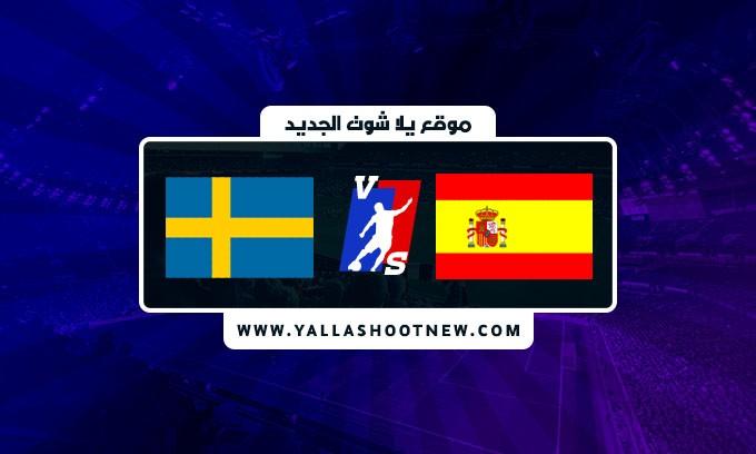 نتيجة مباراة اسبانيا والسويد اليوم في تصفيات كأس العالم
