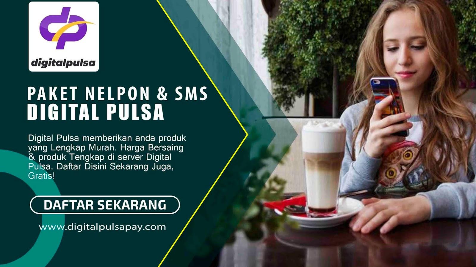 Paket Nelpon dan SMS all Operator Murah, Digital Pulsa
