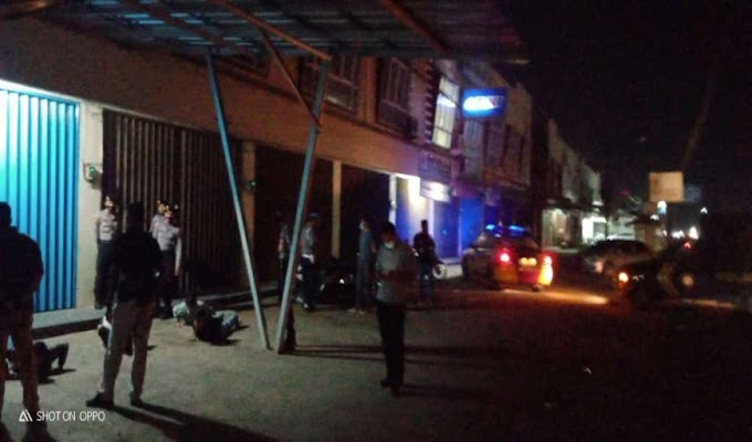 Tegakkan Prokes, Polres Serang Bubarkan Pengunjung Cafe Leo