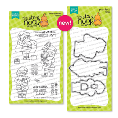 Dear Santa Stamp Set by Newton's Nook Designs #newtonsnook