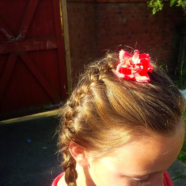 front of hairstyle for school disco