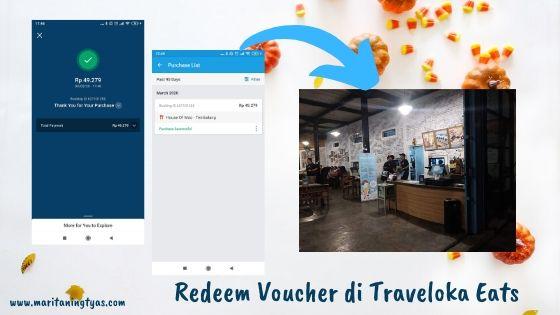 cara redeem voucher di Traveloka Eats
