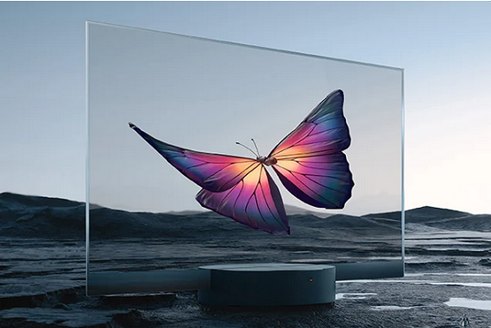Xiaomi Launches Transparent OLED TV