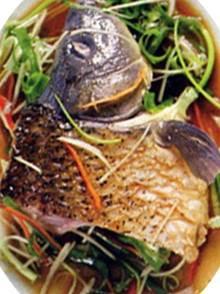 Ruột cá chép nướng chữa mụn nhọt