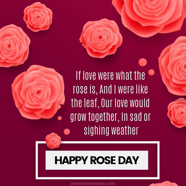 Rose Day Quotes wishes