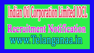 Indian Oil Corporation Limited IOCL Recruitment Notification 2016 Last date 05-12-2016
