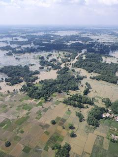 nitish-visit-madhubani-flood-inspaction