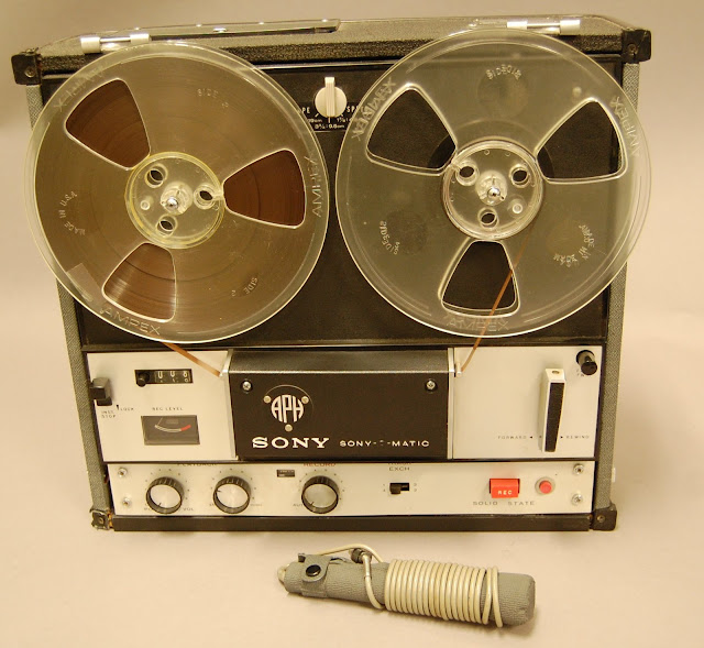 APH - Sony 105 Tape Recorder