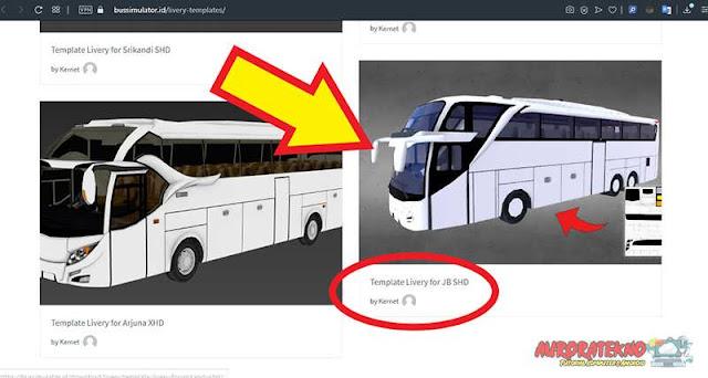 template livery jetbus 2+ shd bussid