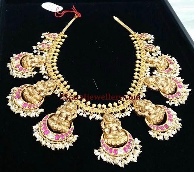 Lakshmi Necklace from Vajra Jewelry