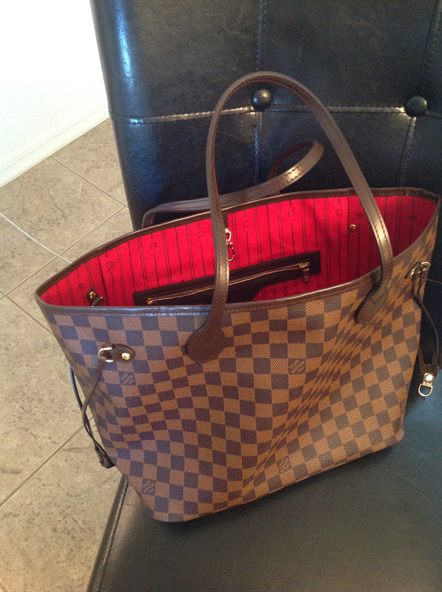 9aa64101efd6 Louis Vuitton Neverfull Mm Replica
