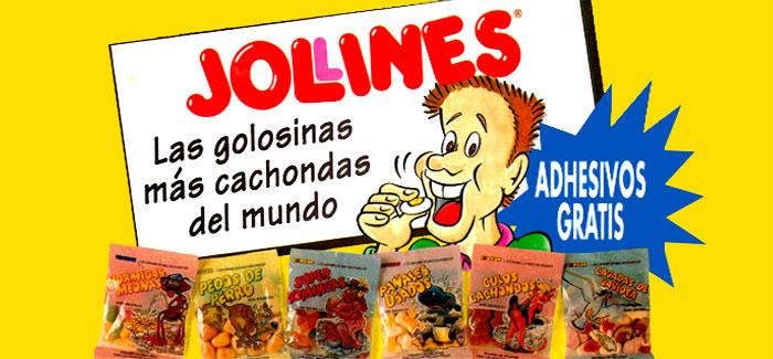 Jolines, las golosinas más cachondas del mundo